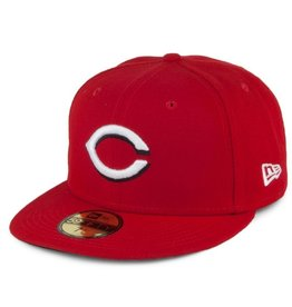 New Era On-Field Home Hat Cincinnati Reds Red