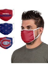 FOCO FOCO Adult Face Cover 3 Pack Montreal Canadiens