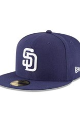 New Era On-Field Authentic 59FIFTY Home Hat San Diego Padres Navy