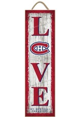 Prints Charming NHL Love My Team Plaque Montreal Canadiens
