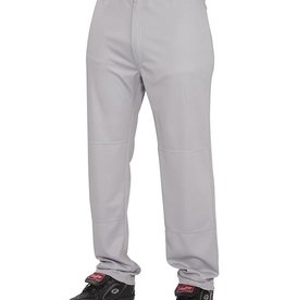 Rawlings Semi-Relaxed Adult Baseball Pants Grey