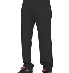 Rawlings Semi-Relaxed Adult Baseball Pants Black