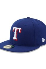 New Era On-Field Home Hat Texas Rangers Royal