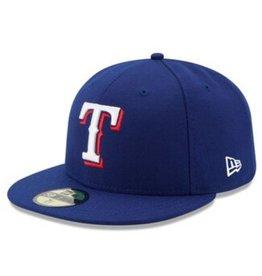 New Era On-Field Home Hat Texas Rangers Royal