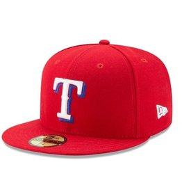 New Era On-Field Alternate Hat Texas Rangers Red