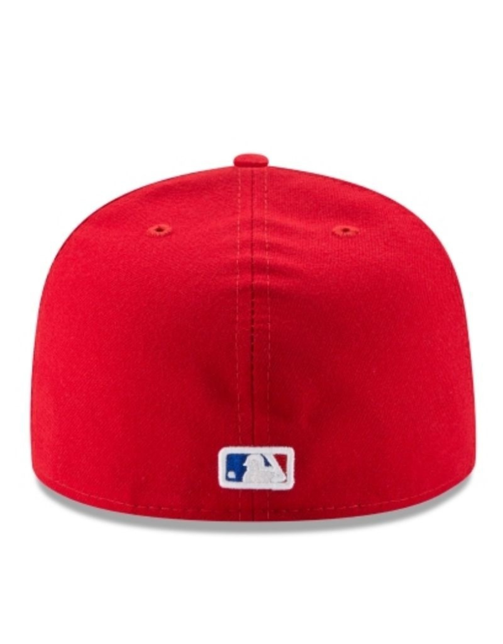 New Era On-Field Authentic 59FIFTY Alternate Hat Texas Rangers Red