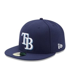 New Era On-Field Home Hat Tampa Bay Rays Navy