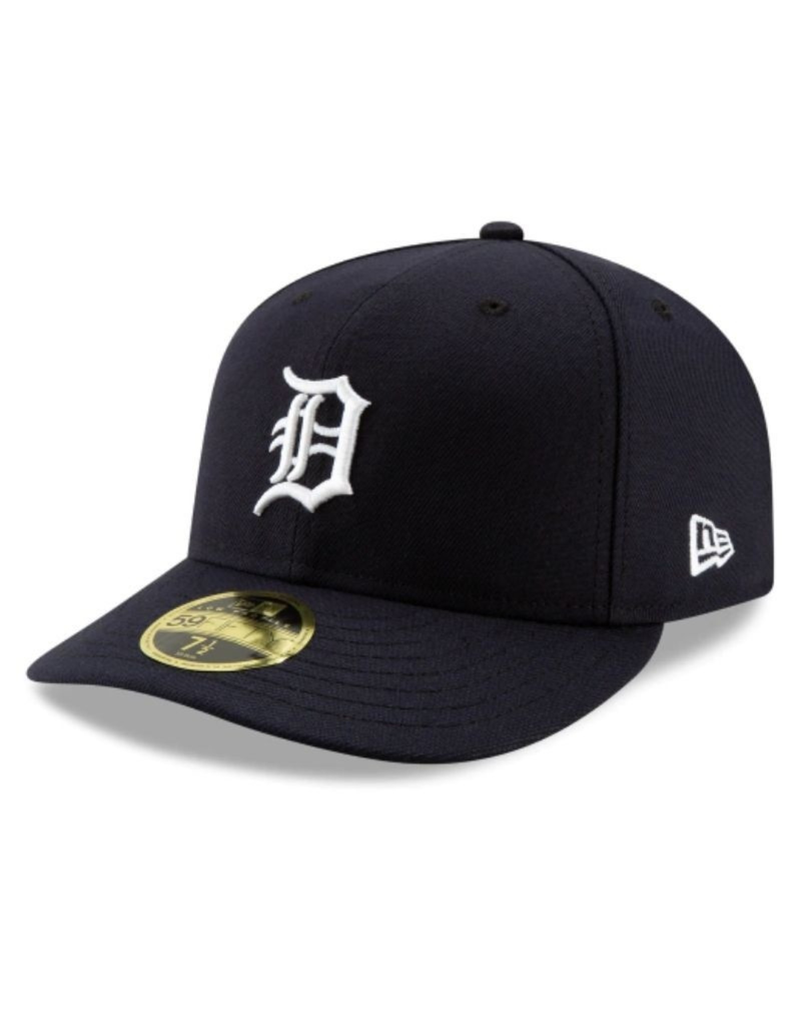 New Era Low Profile On-Field Home Hat Detroit Tigers Navy