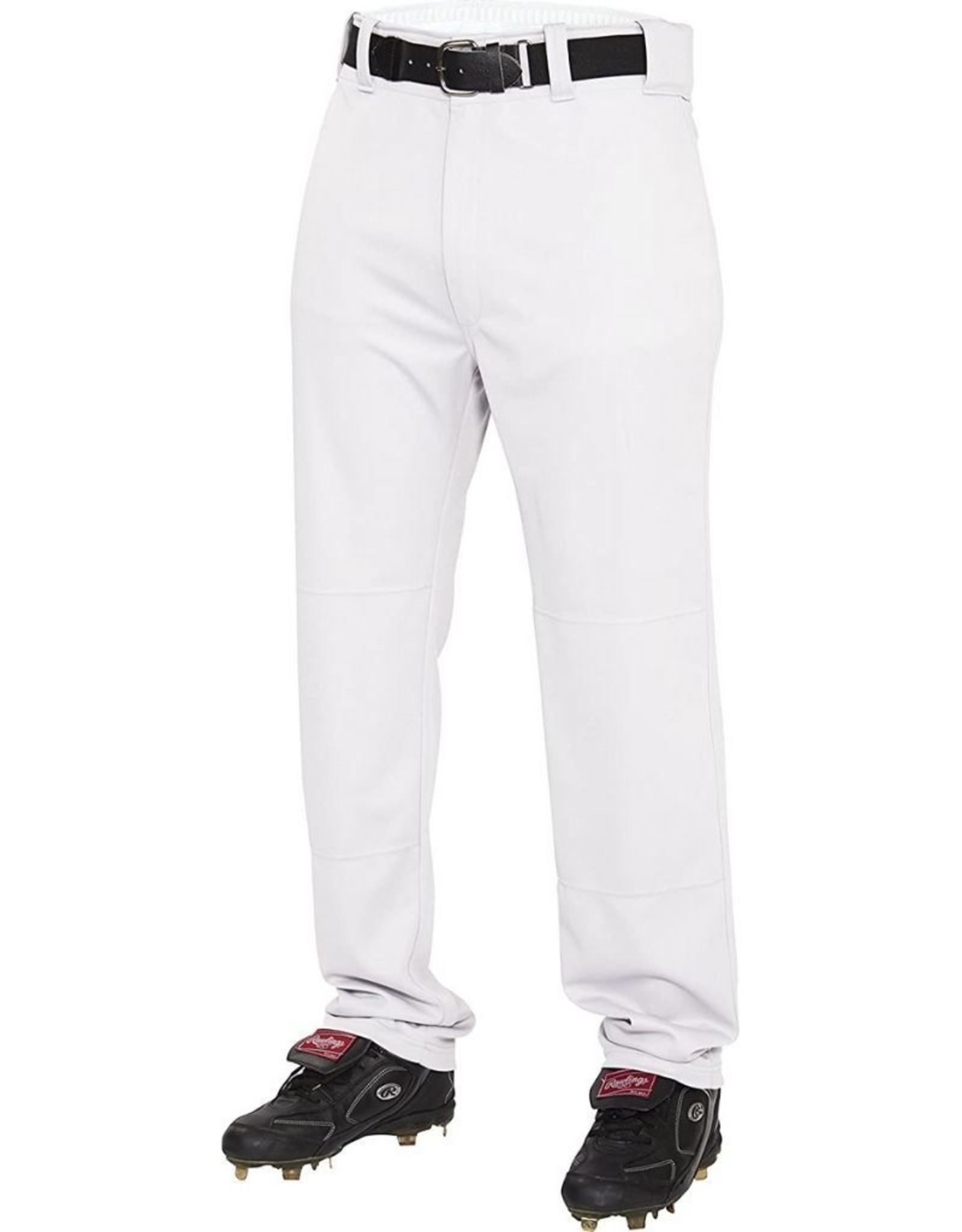 Rawlings Semi-Relaxed Youth Baseball Pants White