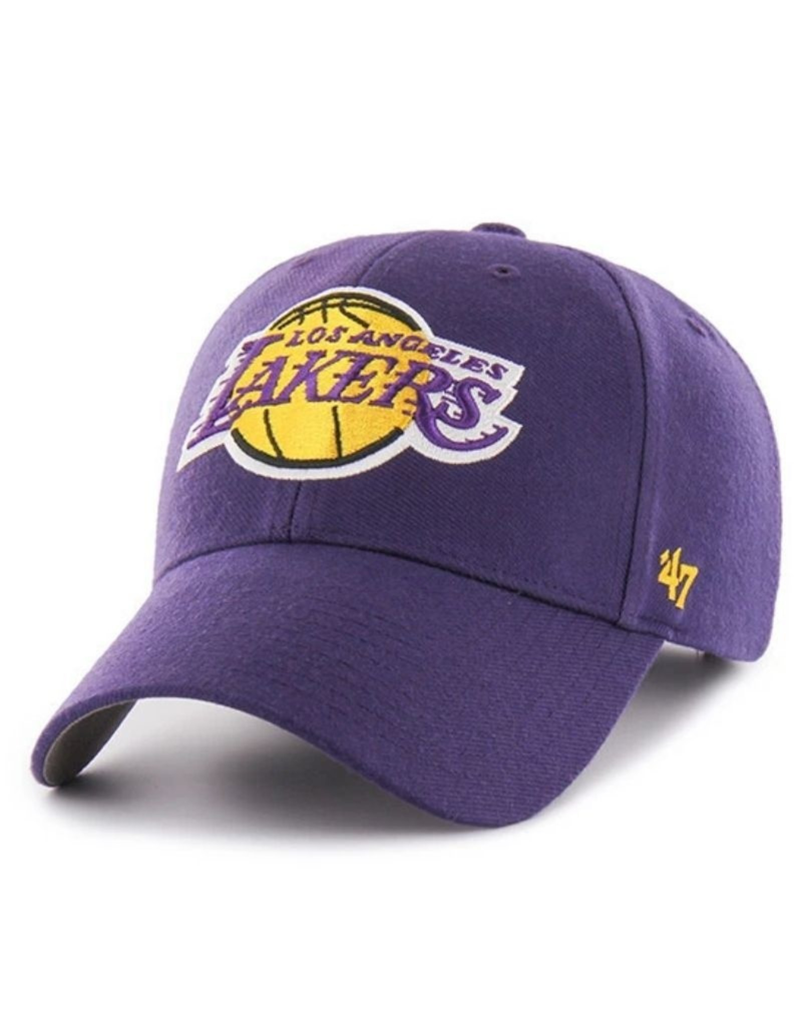 '47 MVP Men's Hat Primary Logo Los Angeles Lakers Purple Adjustable