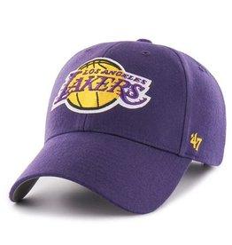 '47 MVP Men's Hat Primary Logo Los Angeles Lakers Purple Adjustable