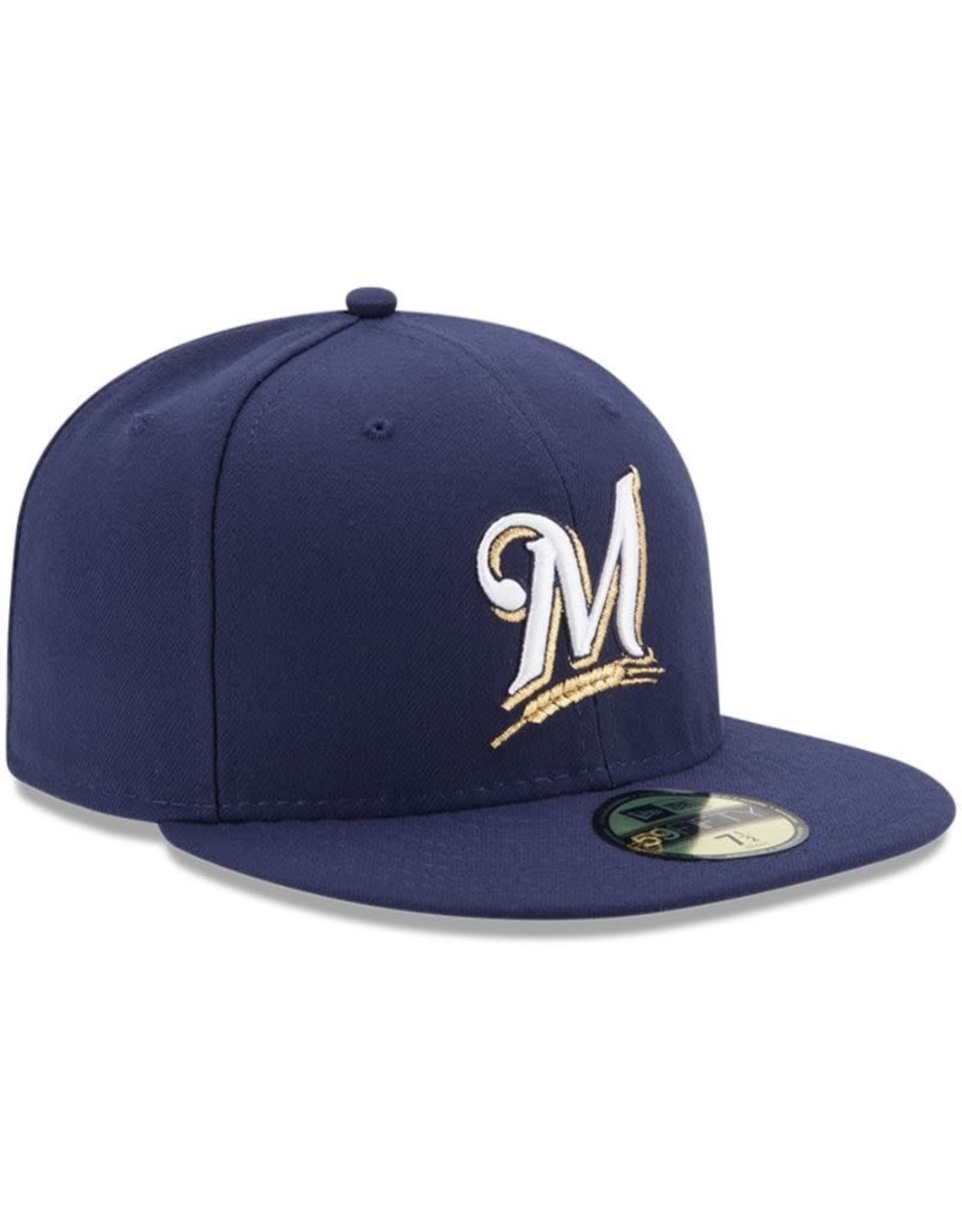 New Era On-Field Home Hat Milwaukee Brewers Navy