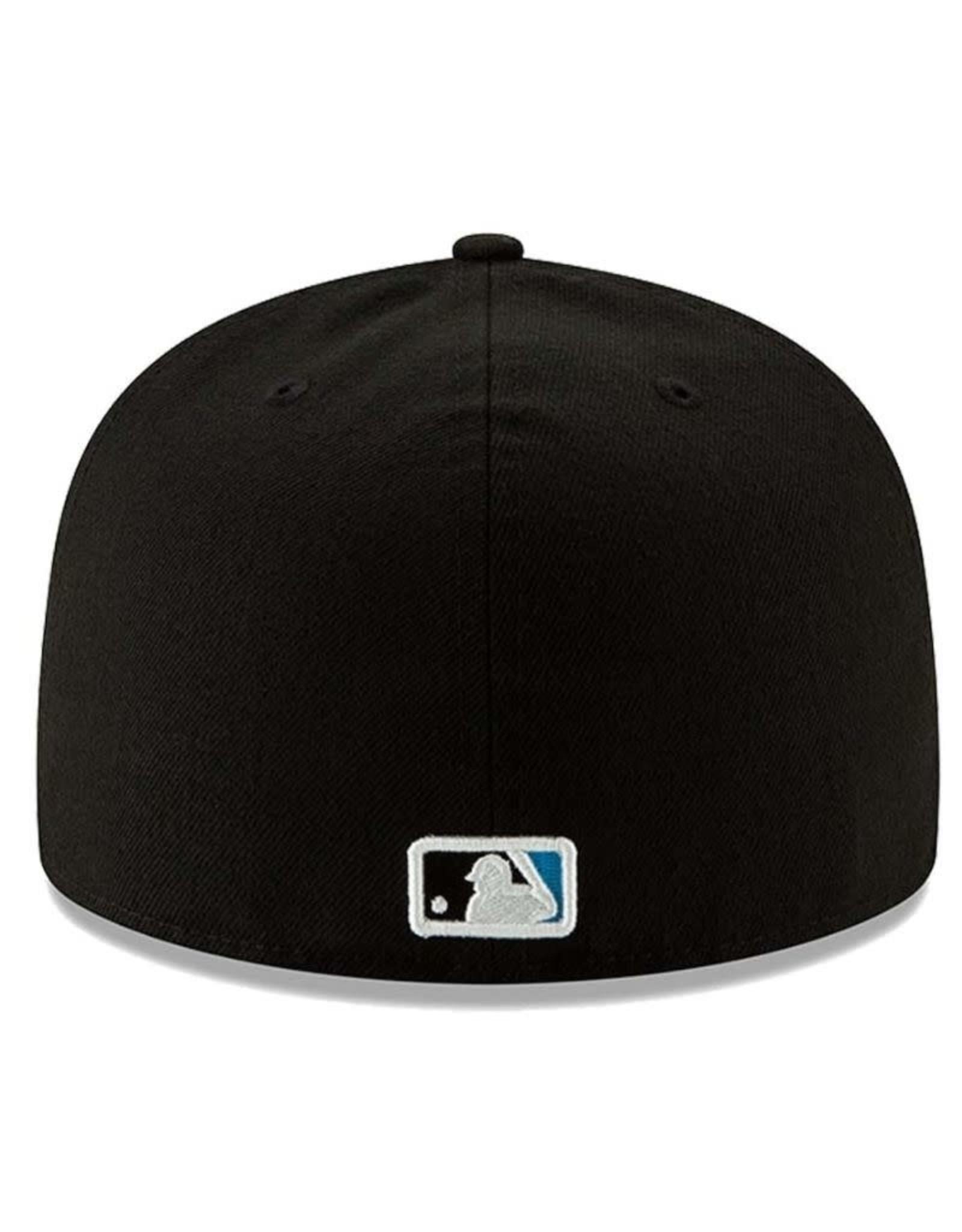 New Era On-Field Home Hat Miami Marlins Black