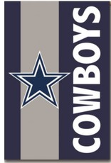 "Evergreen Embellish Regular Flag 28""X44"" Dallas Cowboys"
