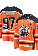 Fanatics Fanatics Men's Edmonton Oilers Orange Jersey Mcdavid #97