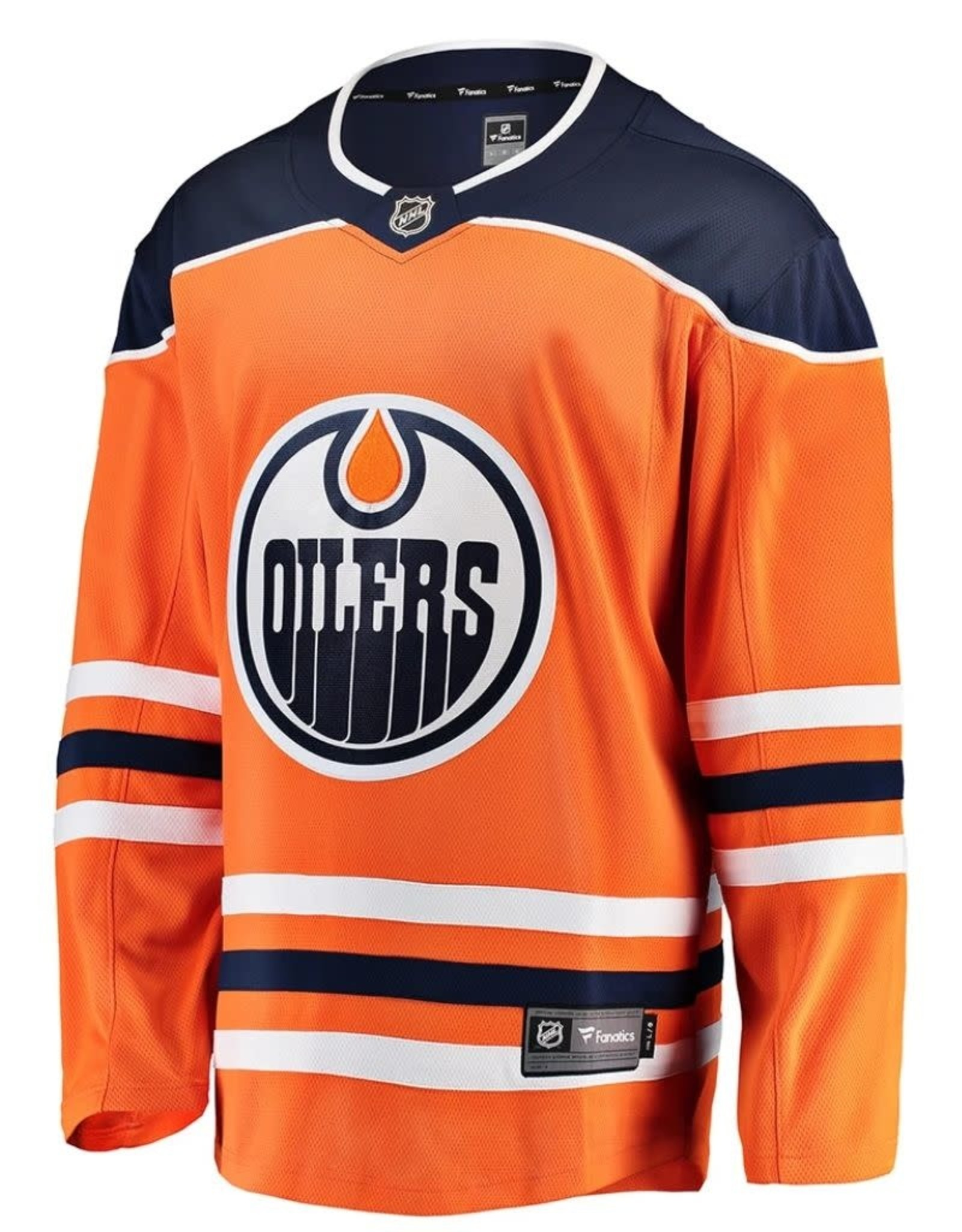 Fanatics Fanatics Men's Edmonton Oilers Orange Jersey