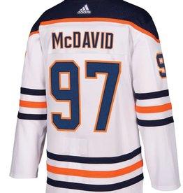 Adidas Adidas Men's Edmonton Oilers White Jersey McDavid #97