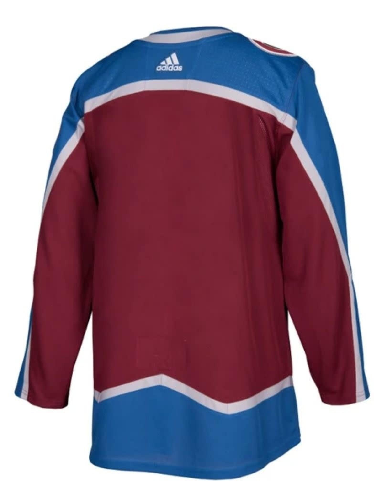 Adidas  Adidas Adult Authentic Colorado Avalanche Jersey Burgundy
