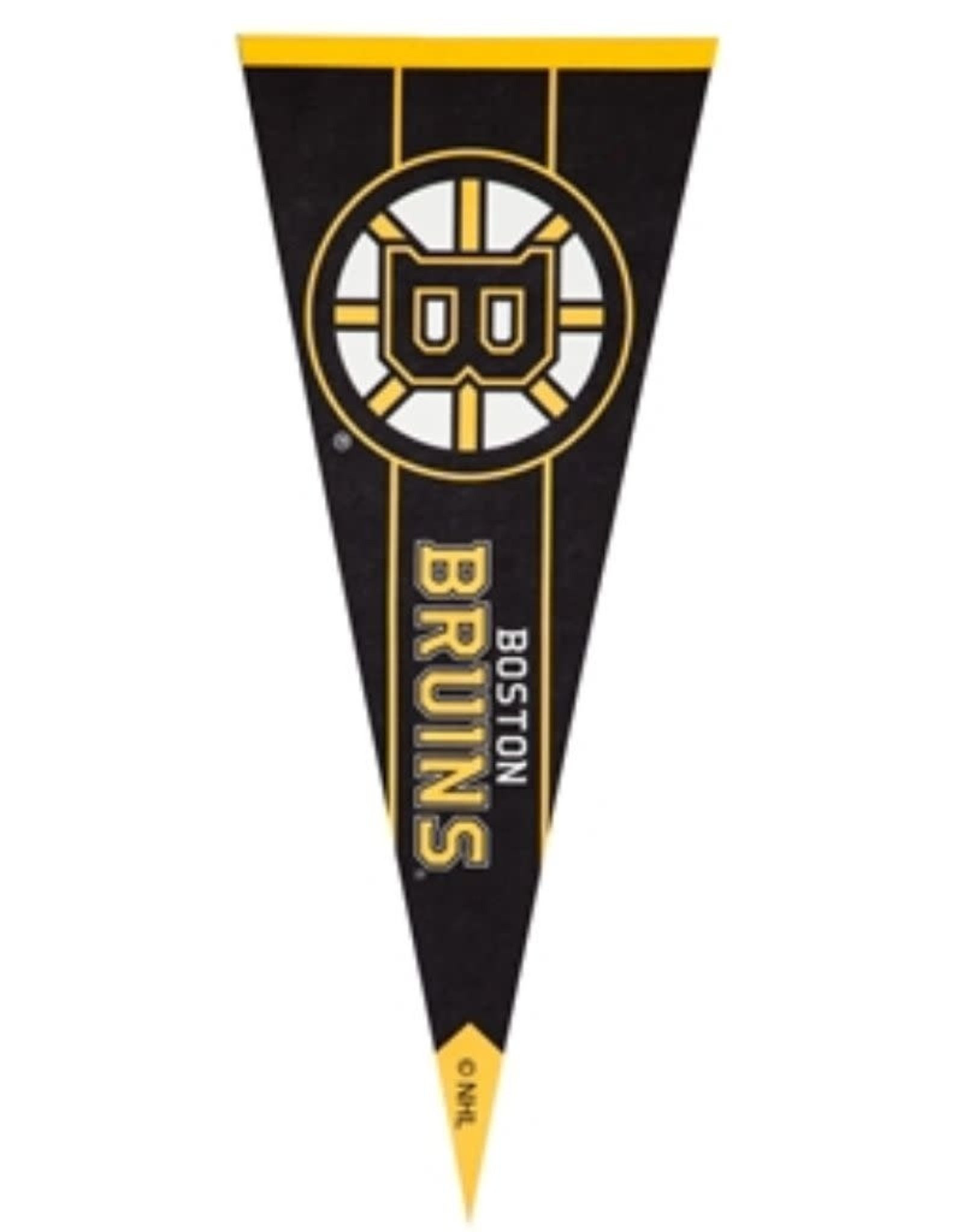 Team Pennant Flag Boston Bruins