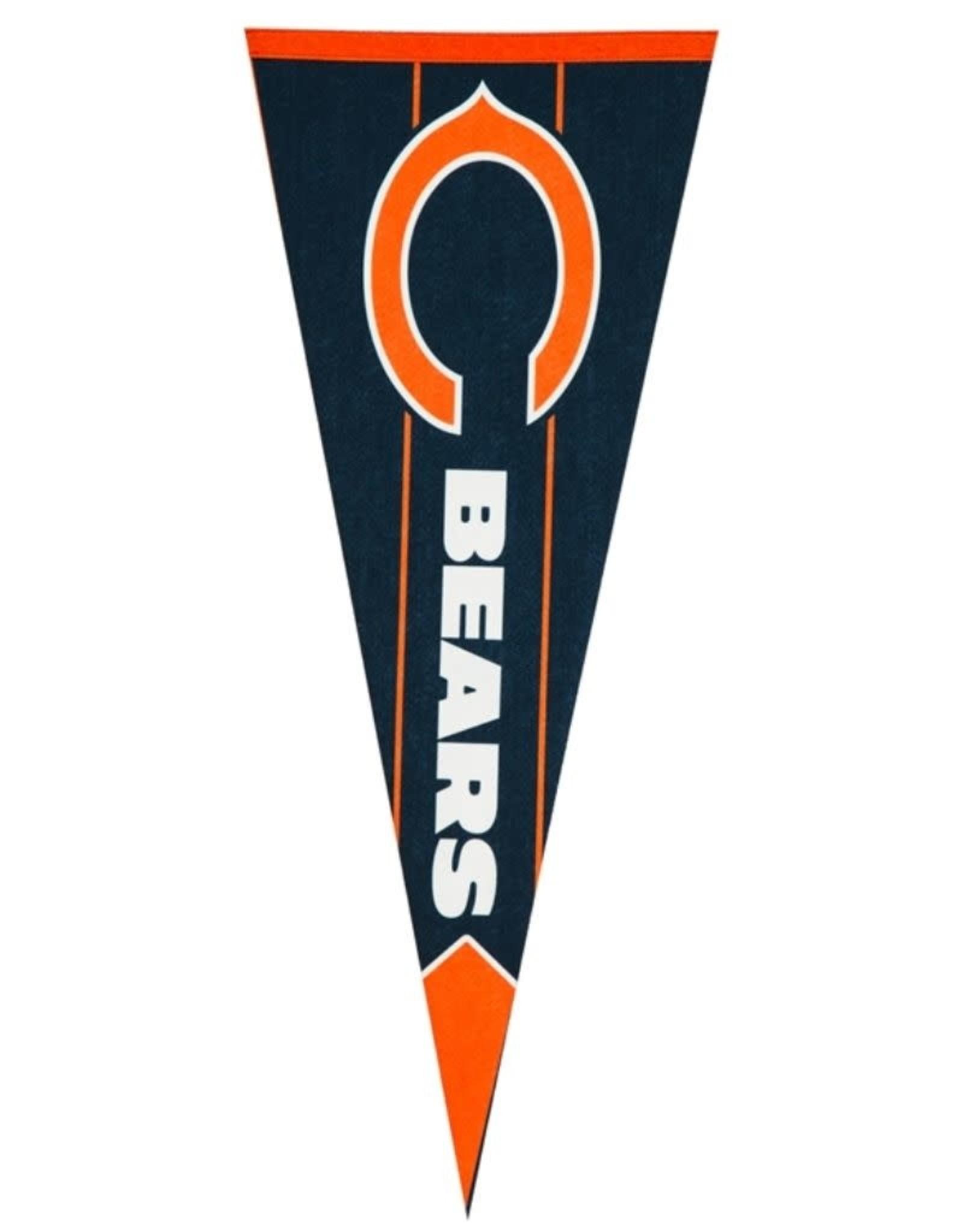 Team Pennant Flag Chicago Bears
