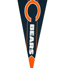 Team Pennant Flag Chicago Bears