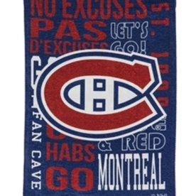"Evergreen Fan Rules Garden Flag 12.5"" X 18"" Montreal Canadiens"