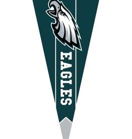 Evergreen Team Pennant Flag Philadelphia Eagles