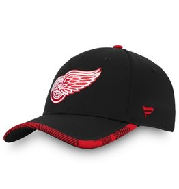 Fanatics NHL Fanatics Men's Iconic Stretch Hat Detroit Red Wings Black