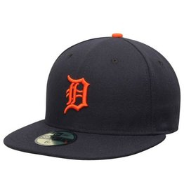 New Era On-Field Home Hat Detroit Tigers Navy/Orange