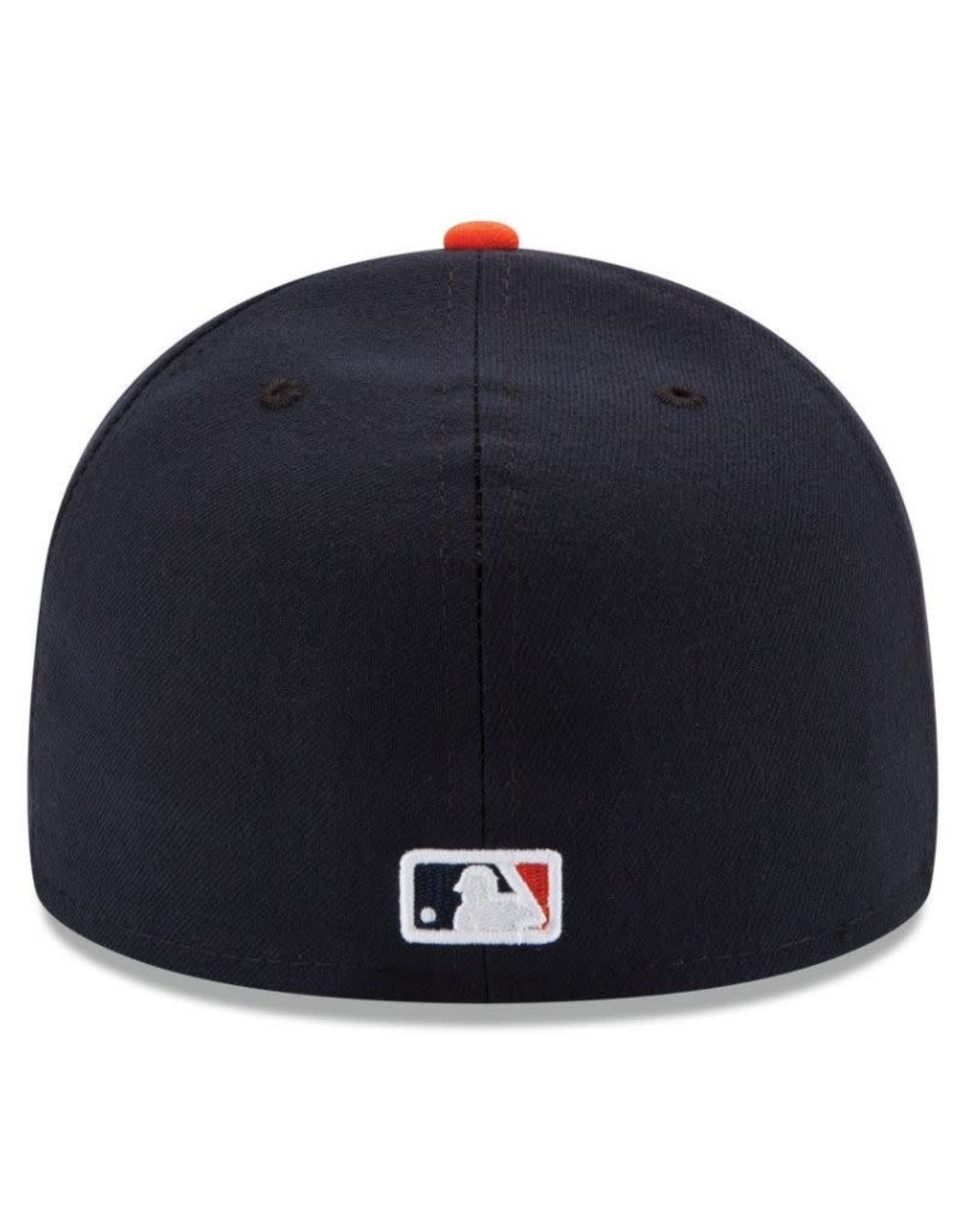 New Era On-Field  Authentic 59FIFTY Home Hat Detroit Tigers Navy/Orange