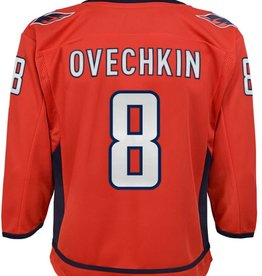 NHL Youth Premier Home Jersey Ovechkin #8 Washington Capitals Red
