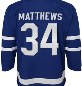 NHL Youth Premier Home Jersey Matthews #34 Toronto Maple leafs Blue