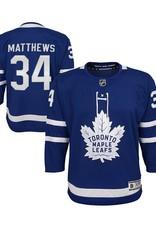 NHL Youth Premier Home Jersey Matthews #34 Toronto Maple leafs Blue