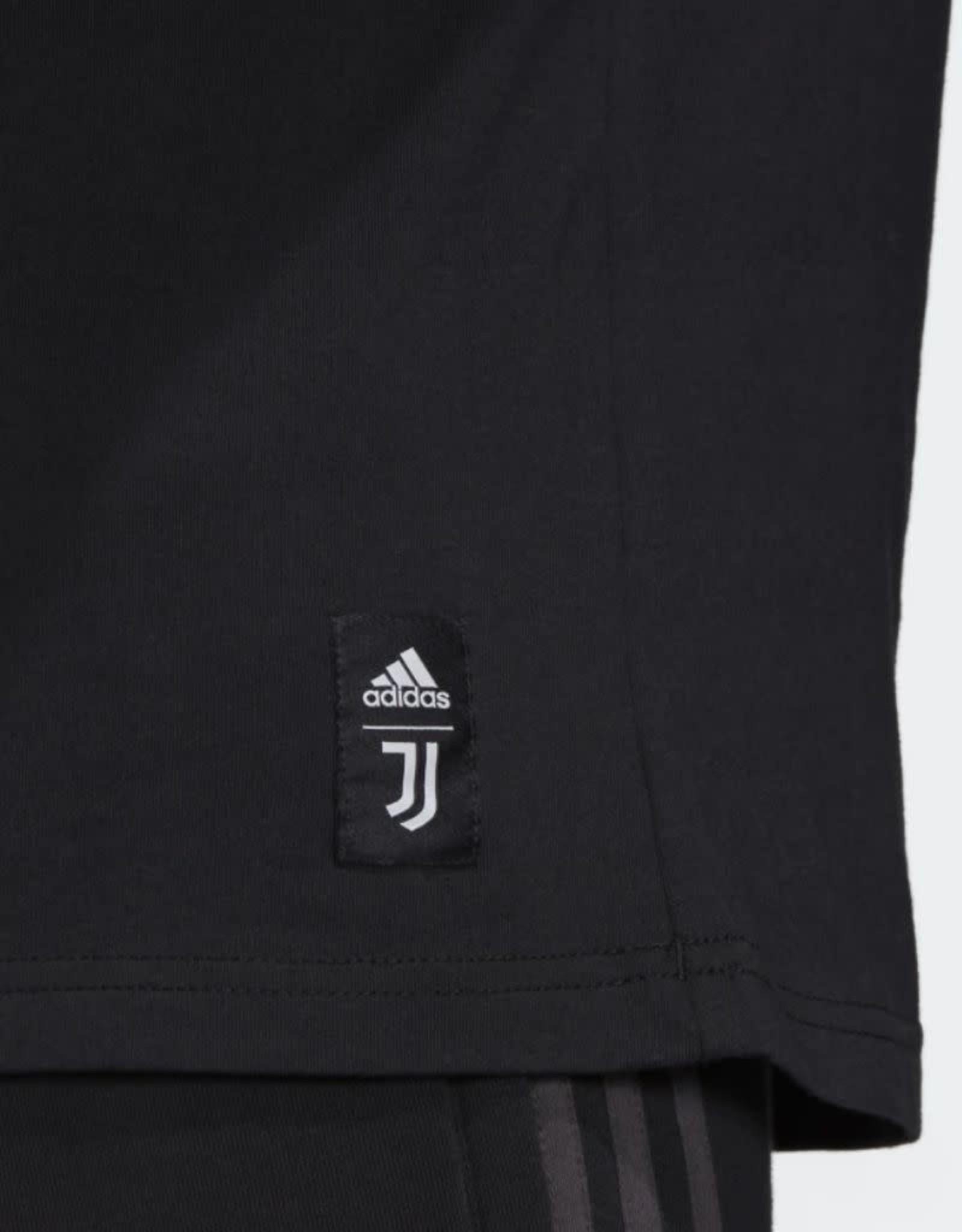 Adidas Adidas Men's DNA Logo Graphic T-Shirt Juventus Black