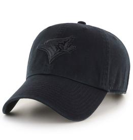 '47 Men's Clean Up Hat Toronto Blue Jays Black/Black Adjustable