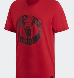 Adidas Adidas DNA Logo Men's T-Shirt Manchester United Red