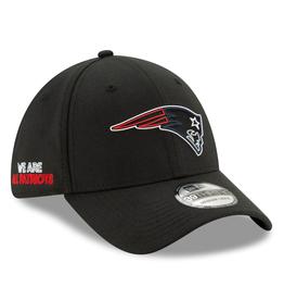 New Era '20 NFL Draft Men's 39THIRTY Hat New England Patriots Black
