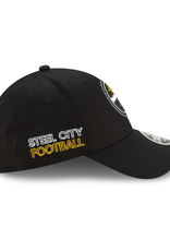New Era '20 NFL Draft Men's 39THIRTY Hat Pittsburgh Steelers Black