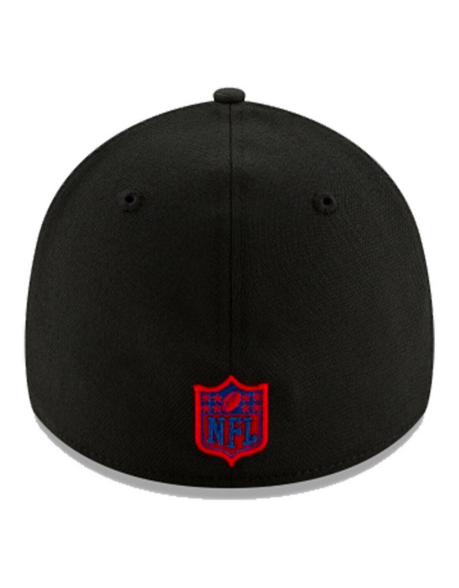 New Era '20 NFL Draft Men's 39THIRTY Hat Buffalo Bills Black