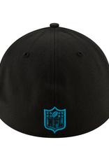 New Era '20 NFL Draft Men's 39THIRTY Hat Carolina Panthers Black