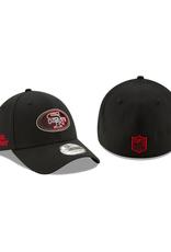New Era '20 NFL Draft Men's 39THIRTY Hat San Francisco 49ers Black