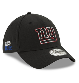 New Era '20 NFL Draft Men's 39THIRTY Hat New York Giants Black