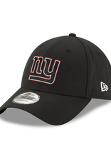 New Era '20 NFL Draft Men's 39THIRTY Hat New York Giants Black