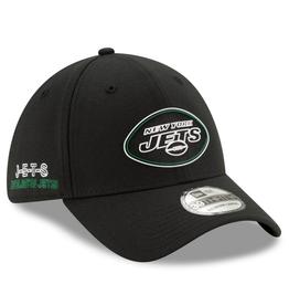 New Era '20 NFL Draft Men's 39THIRTY Hat New York Jets Black