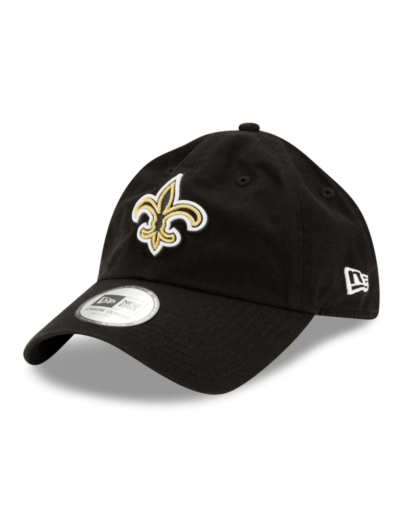 New Era '20 NFL Draft Casual Classic Hat New Orleans Saints Black Adjustable