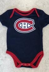 NHL Child Full Team Logo Diaper Canadiens Navy