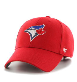 '47 MVP Men's Hat Toronto Blue Jays Red Adjustable