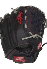 Rawlings Renegade Baseball Glove Black 12.5