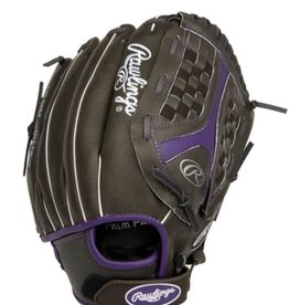 Rawlings Storm Ball Glove Black Purple 12