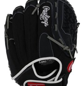 Rawlings Renegade Series Ball Glove Black 12.5